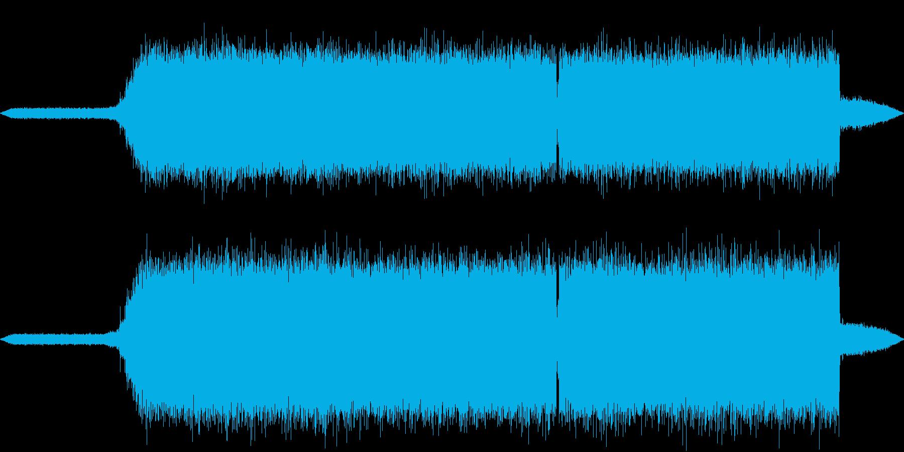 【生録音】真夏の夜の美しい虫の鳴き声2の再生済みの波形