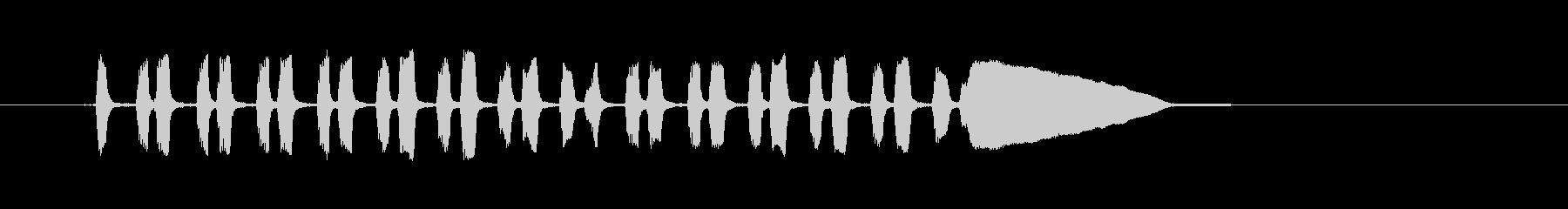 ビューグルチャージ-ミリタリー、ビ...の未再生の波形