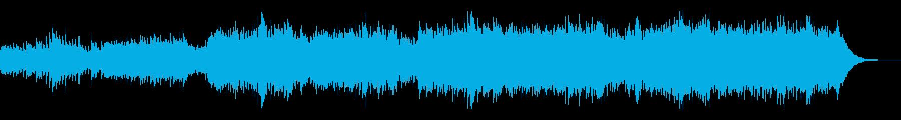 【企業VP】アコギのアンビエントなBGMの再生済みの波形