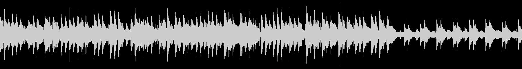 ビブラフォンメロディーのゆったりジャズの未再生の波形