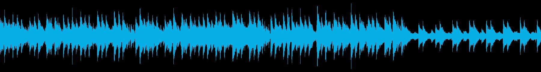 ビブラフォンメロディーのゆったりジャズの再生済みの波形