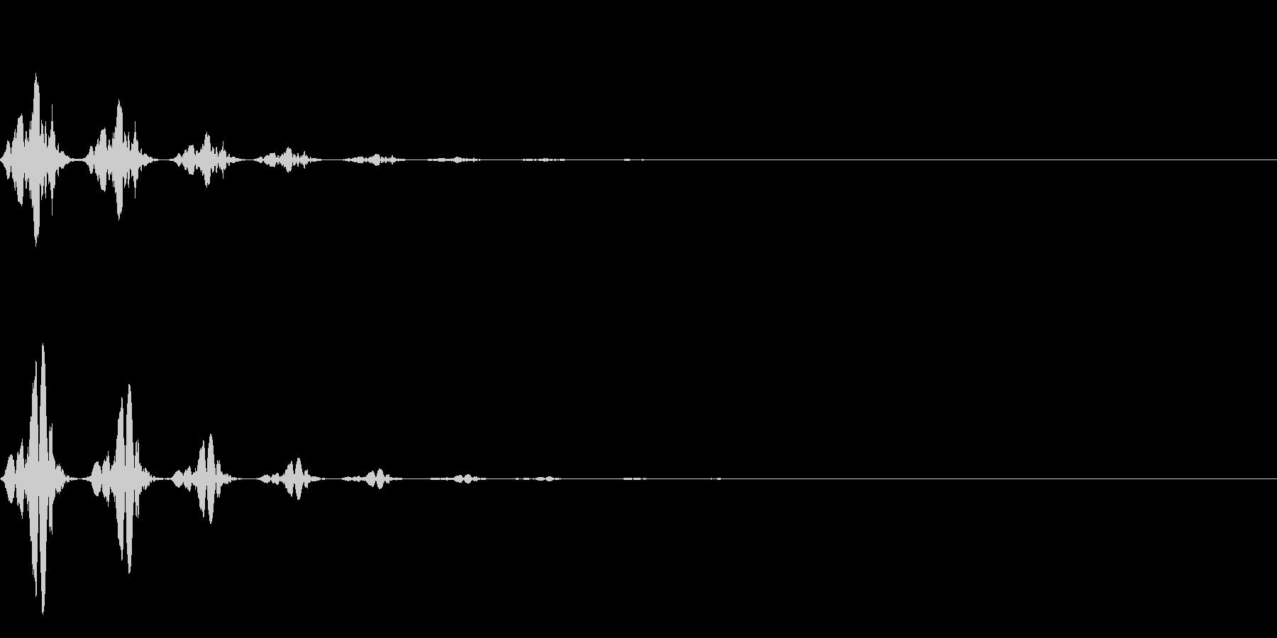 TVFX テレビ向けモーションSE 1の未再生の波形