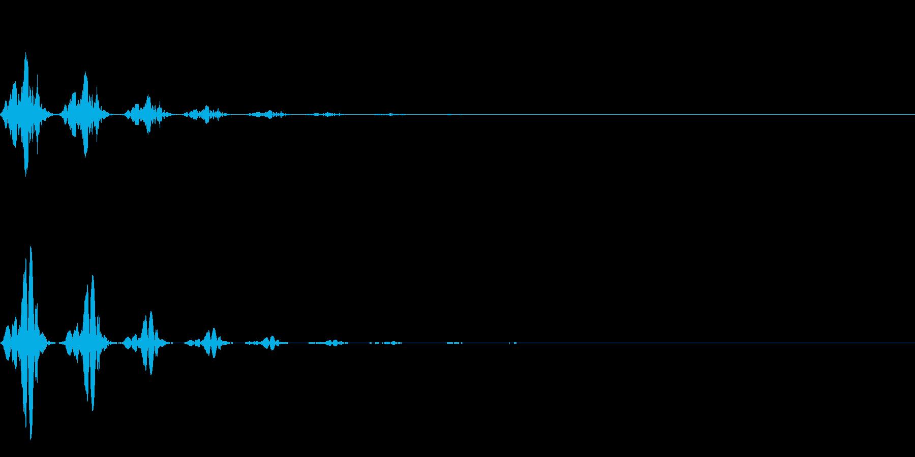 TVFX テレビ向けモーションSE 1の再生済みの波形