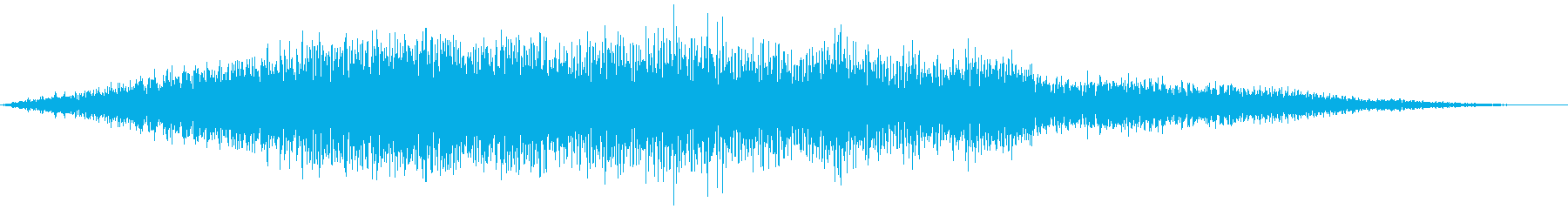 滑走路を通り過ぎる複葉機の再生済みの波形