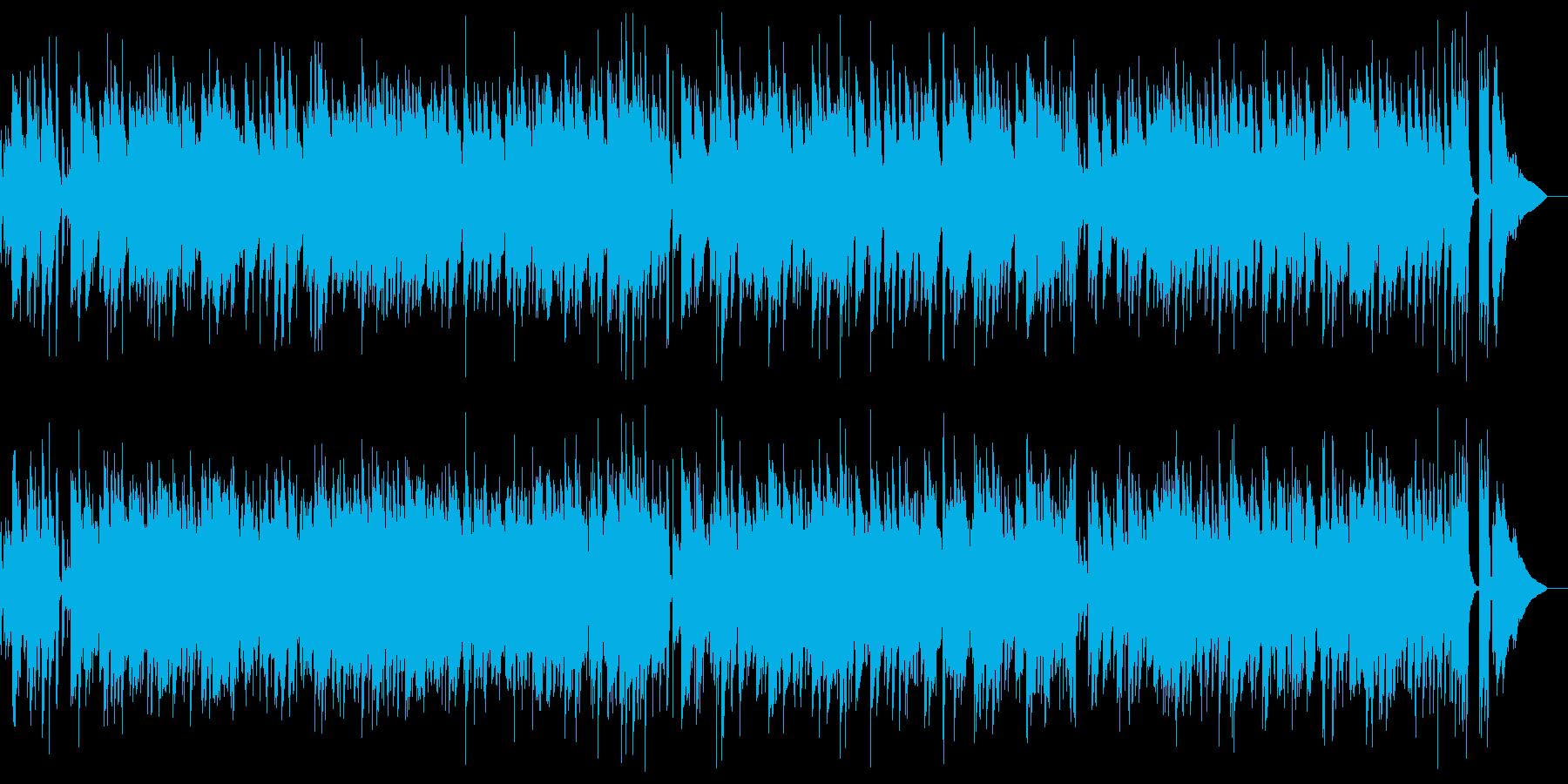 静かな大人のカントリー・ミュージックの再生済みの波形