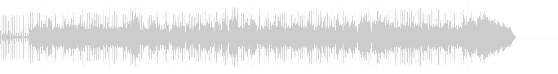 バイオリンによる明るいおでかけ風ポップスの未再生の波形