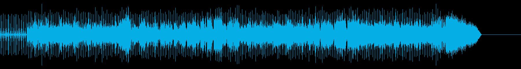バイオリンによる明るいおでかけ風ポップスの再生済みの波形