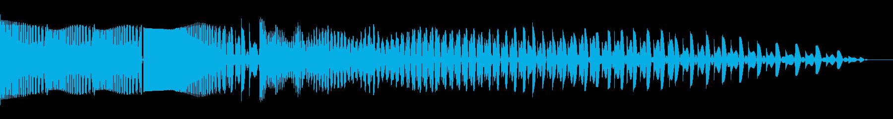 ビッグエレクトロザッパースワイプ3の再生済みの波形
