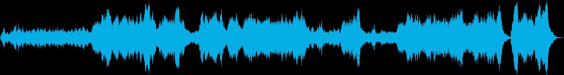 ヘンデルのカバーの再生済みの波形