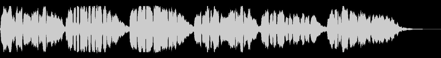 アコーディオンソロの「かごめかごめ」の未再生の波形