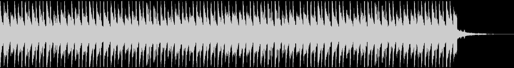 喜び(30秒)の未再生の波形