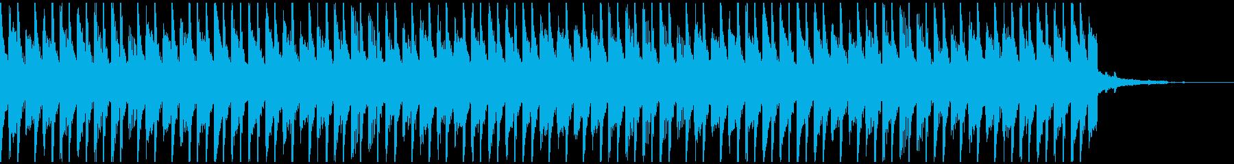 喜び(30秒)の再生済みの波形