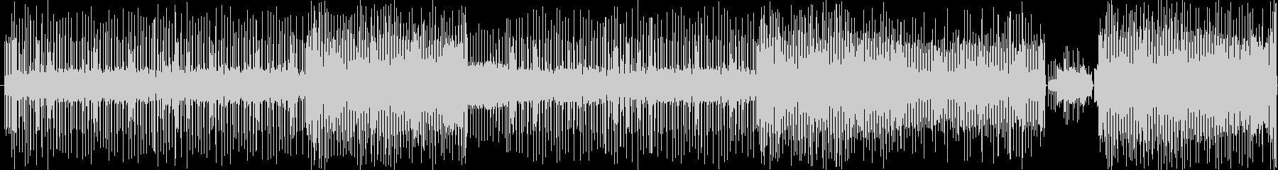 チップチューン風インストの未再生の波形