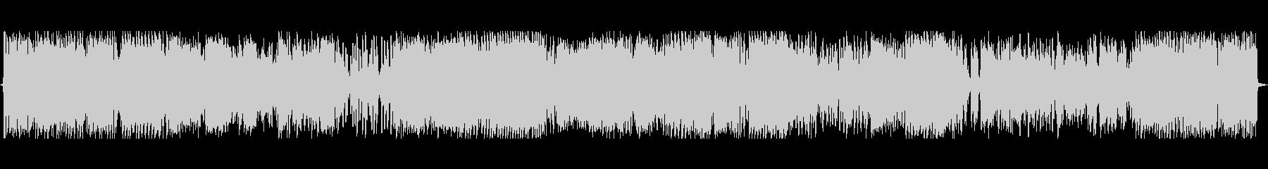 激しいビートのジングルの未再生の波形
