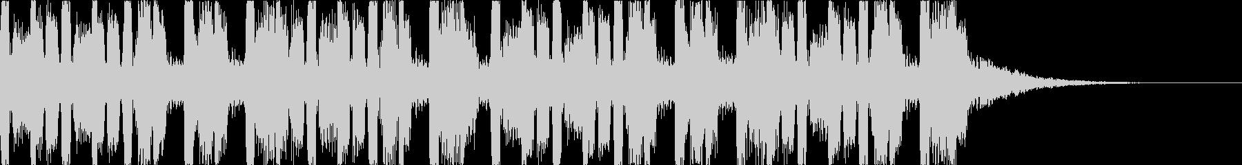 キャッチーでダークなEDM3の未再生の波形