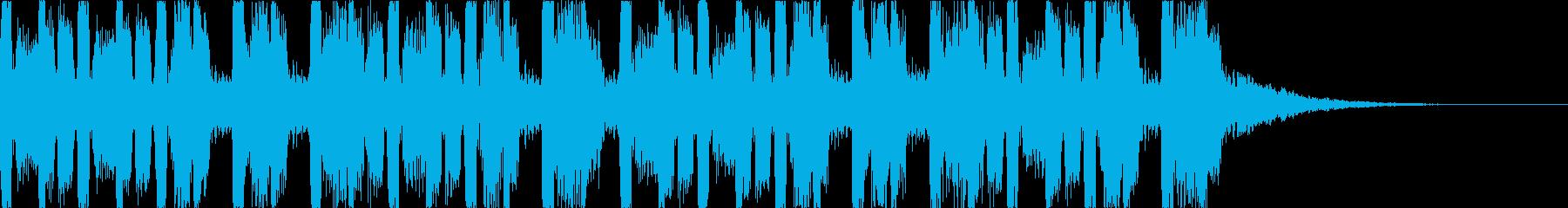 キャッチーでダークなEDM3の再生済みの波形