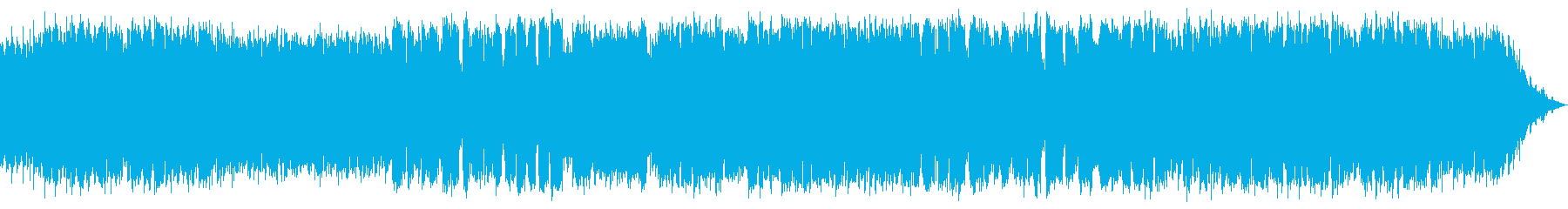 竹笛の穏やかでせつない音楽の再生済みの波形