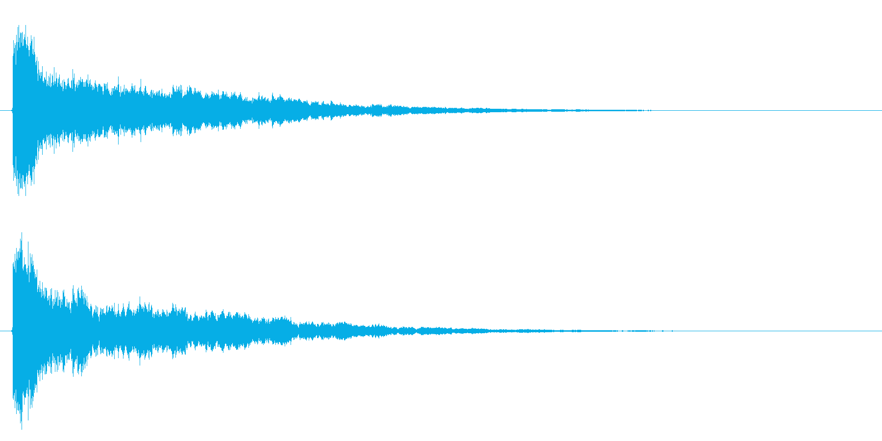 決定音/SF/シューティングゲームの再生済みの波形