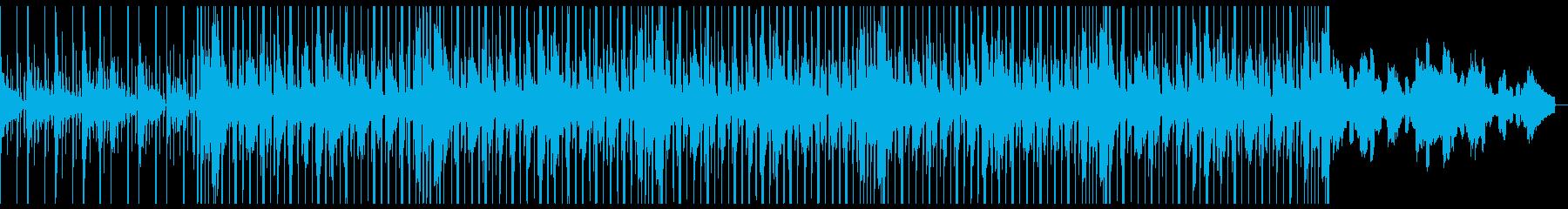 海のキラキラ系の神秘的JAZZYビートの再生済みの波形