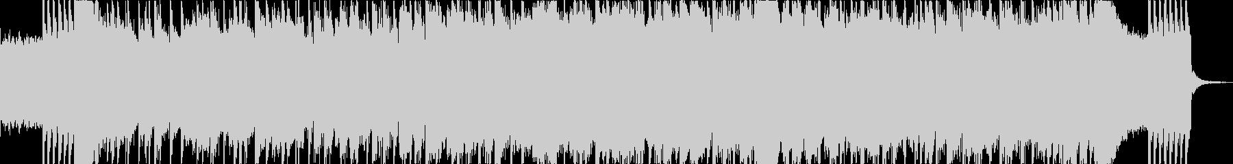 シンプルで明るい雰囲気のロックポップスの未再生の波形