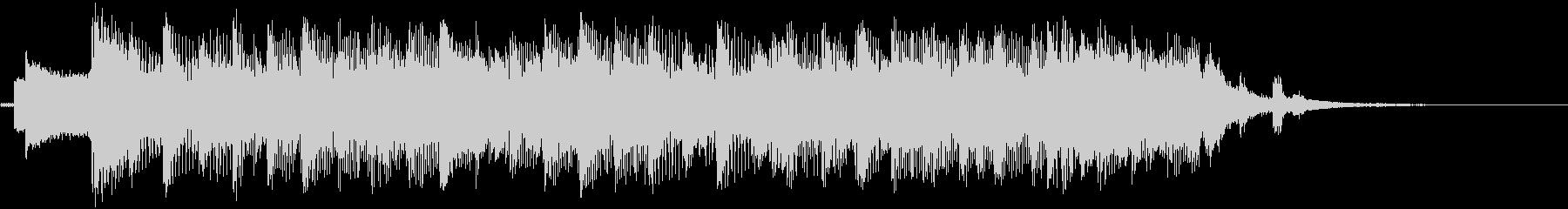 代替ロックテーマの駆動の未再生の波形