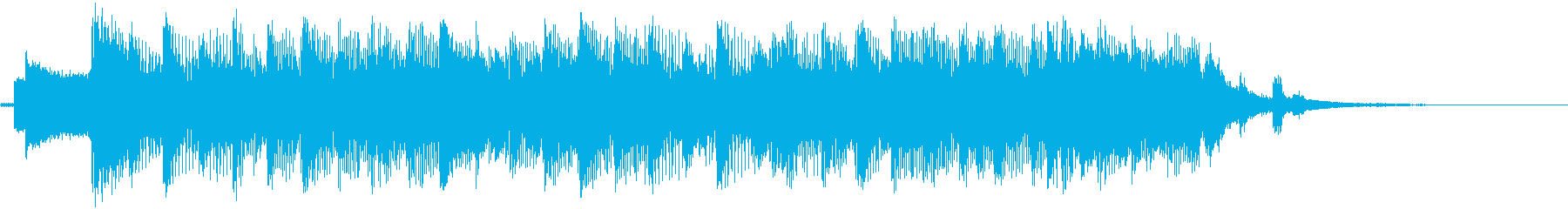 代替ロックテーマの駆動の再生済みの波形