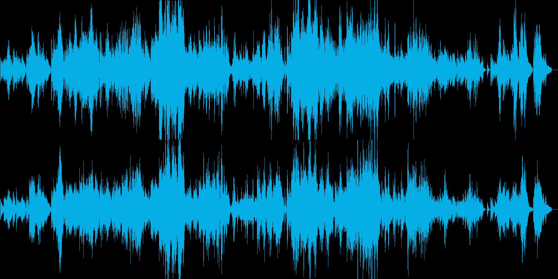 予感を感じさせるピアノバラードの再生済みの波形