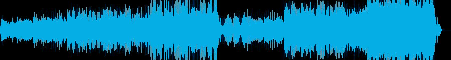 映像のためのアジア風音楽ー宮廷の再生済みの波形
