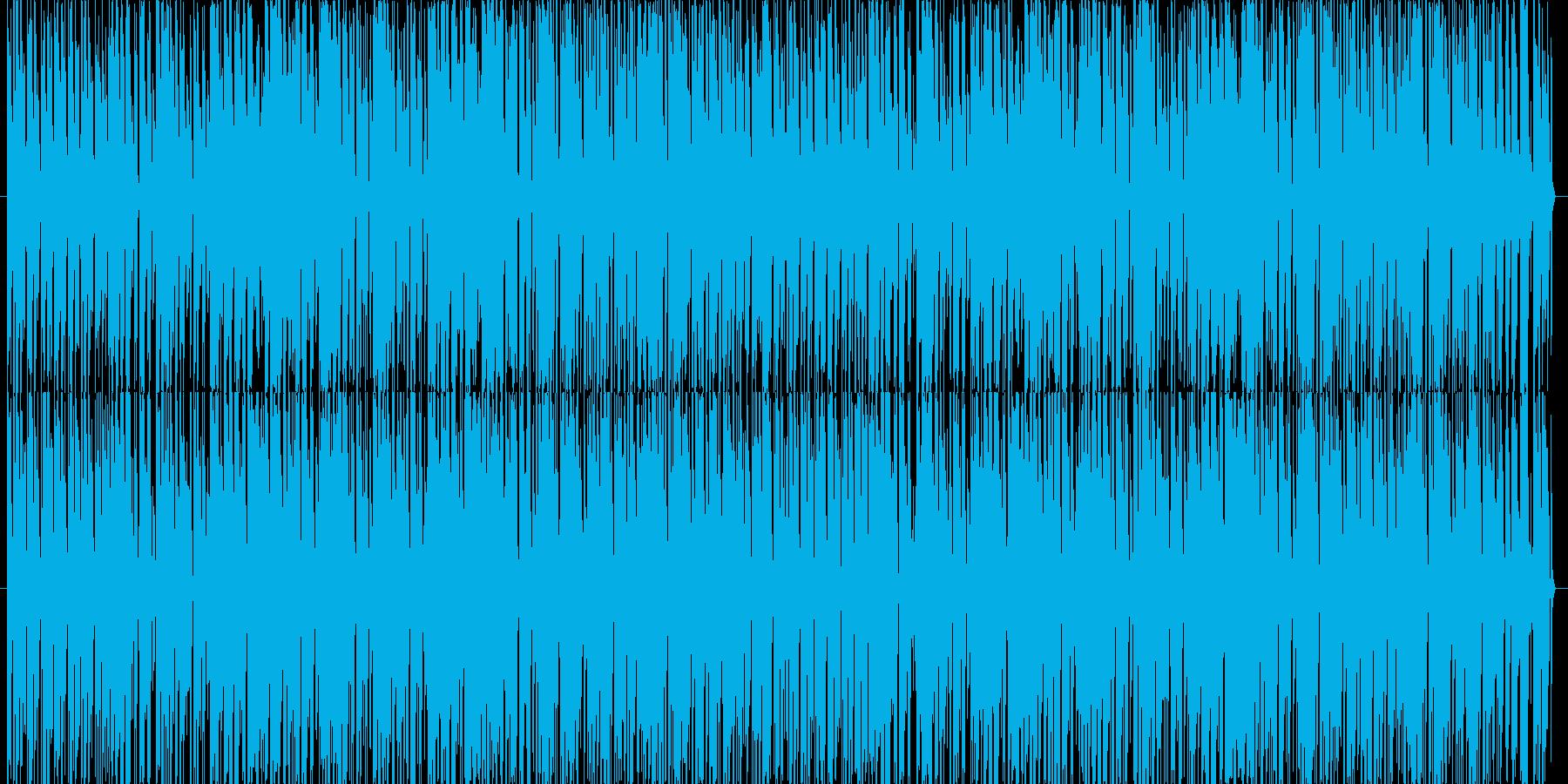 癒し猫系のほのぼのした明るく軽快な映像用の再生済みの波形