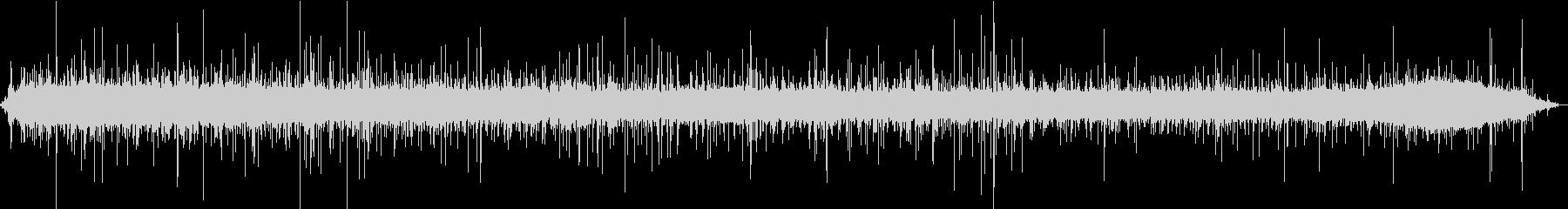 【生録音】美しい雨の音 2の未再生の波形