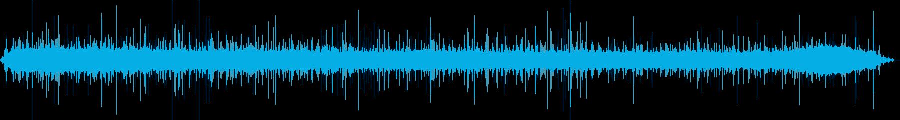 【生録音】美しい雨の音 2の再生済みの波形