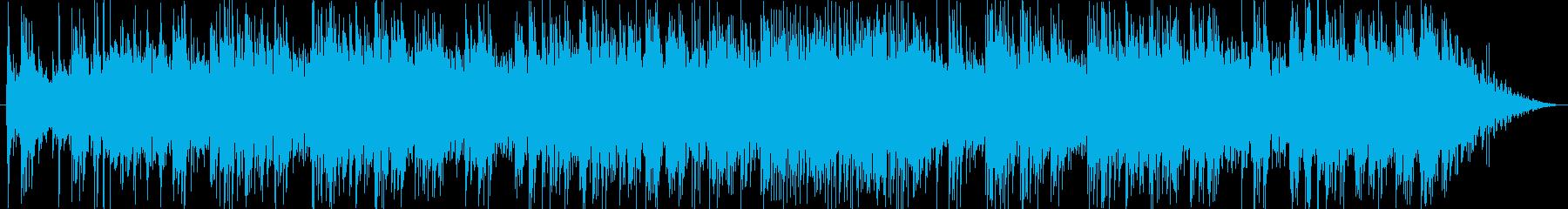 Medium tempo guitar pops's reproduced waveform
