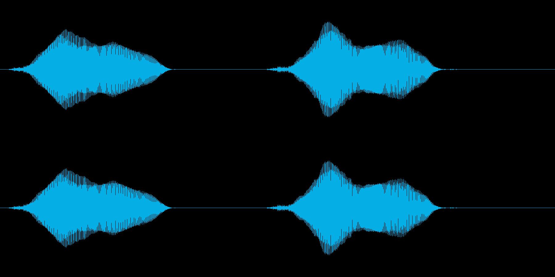 ちゅうちゅうの再生済みの波形