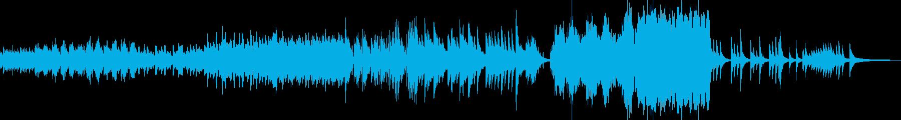 氷漬けの世界をイメージしたBGM Cの再生済みの波形
