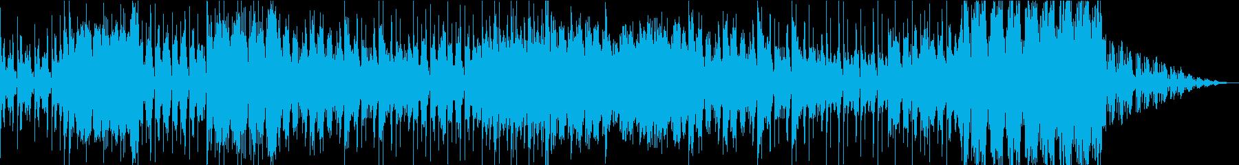 和風で怪しげなダブステップサウンドの再生済みの波形