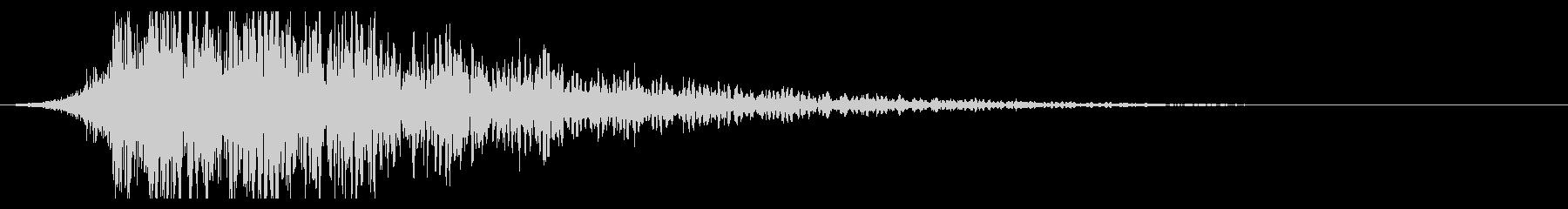 シュードーン-19-1(インパクト音)の未再生の波形