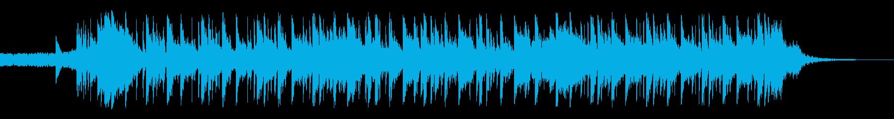 汚れた代替ロックテーマの再生済みの波形