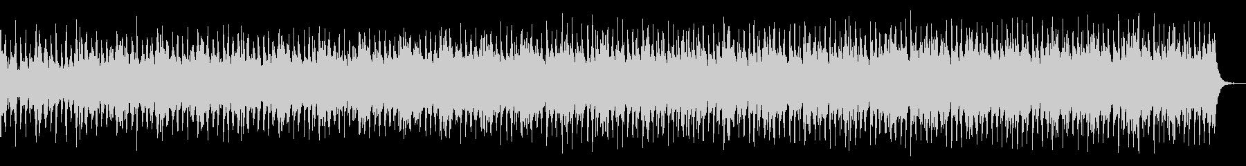 パワフルなオープニング和風ロックの未再生の波形