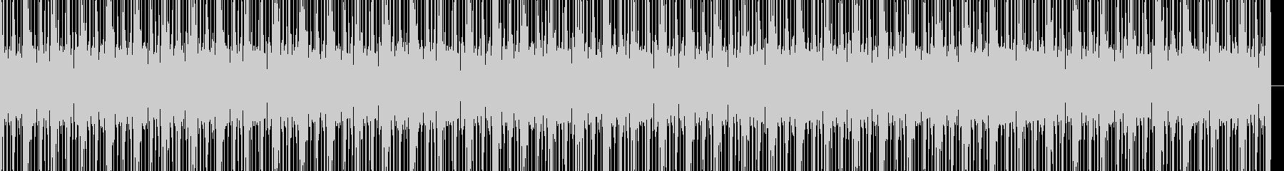 アーバンヒップホップビートの未再生の波形