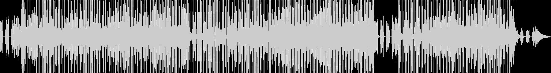 コード感のおしゃれなポップスの未再生の波形