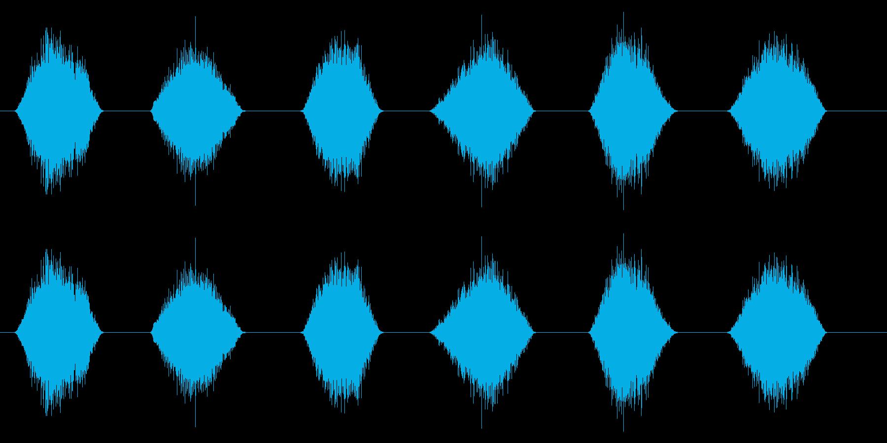 PC マウス ムーブ04-09(ソフト)の再生済みの波形