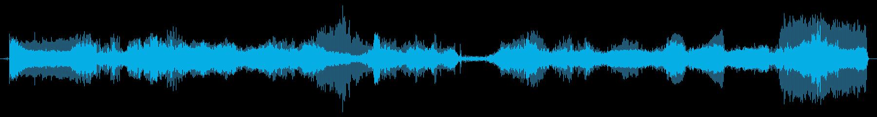 電動はさみ:開始、低速切断、停止、...の再生済みの波形
