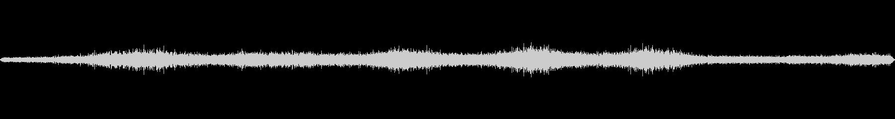 大通りの環境音の未再生の波形