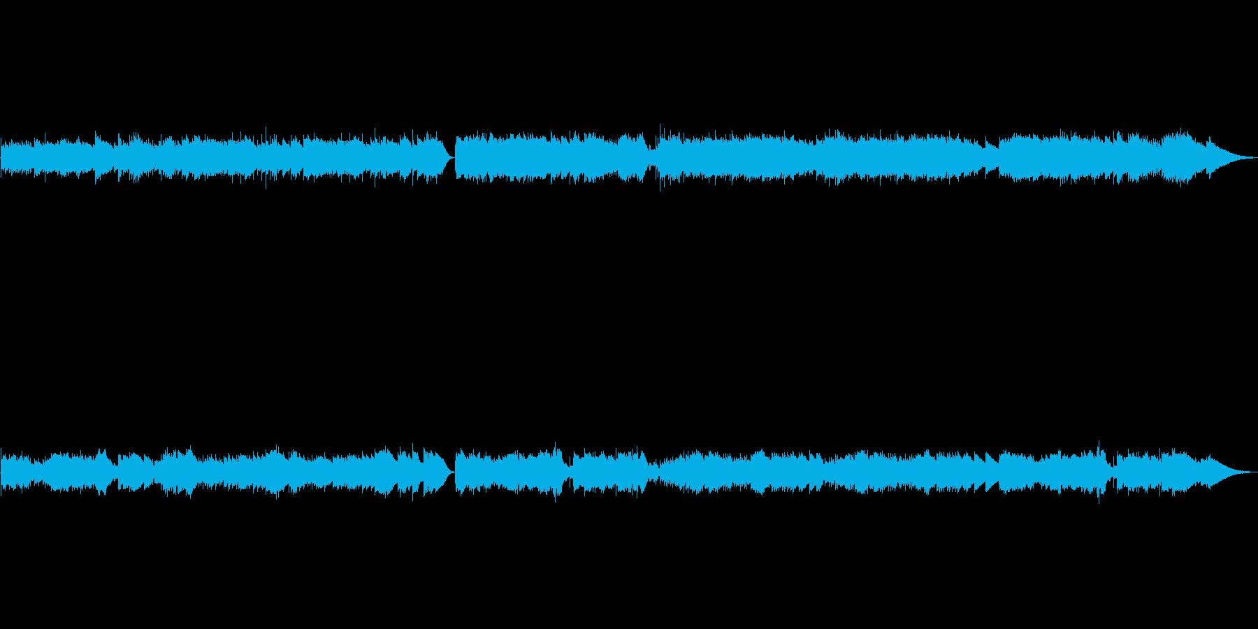 亡き王女のためのパヴァーヌ♪オルゴールの再生済みの波形