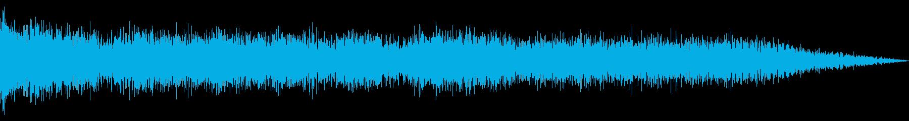 爆発、距離、長い、ミュート; DI...の再生済みの波形