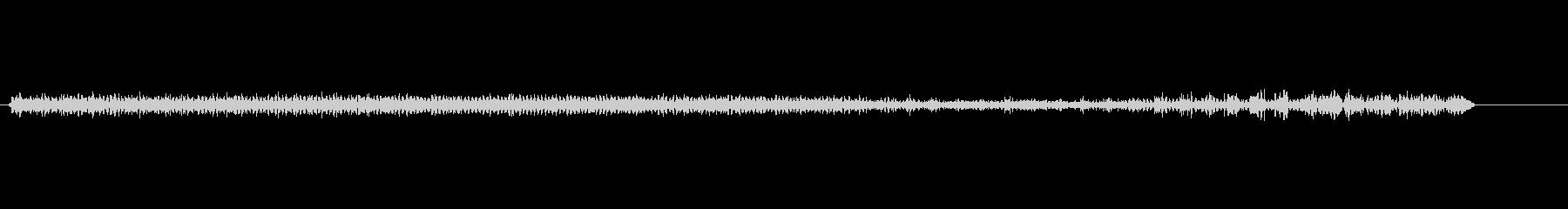 電気時計電気モーターの未再生の波形