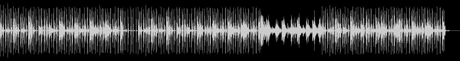 シンセとギターを使ったグリッチ風ポップの未再生の波形