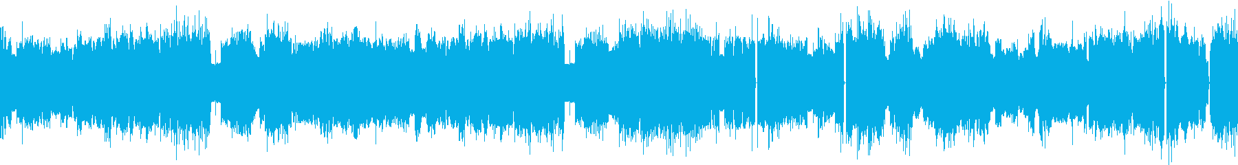 8bit風の牧歌的インストの再生済みの波形