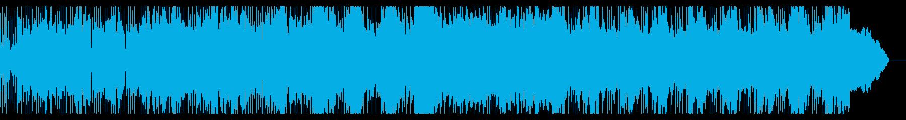 力強いブラスロックの再生済みの波形