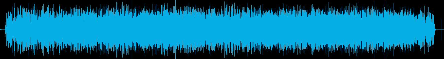 メタルハードロックインストゥルメン...の再生済みの波形